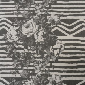 Irose: charcoal on natural