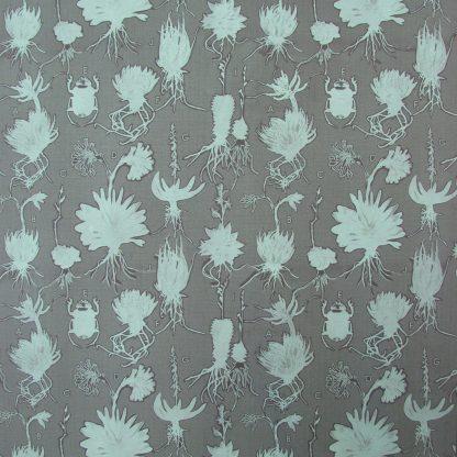 Liliaceae: lichen green on dark grey