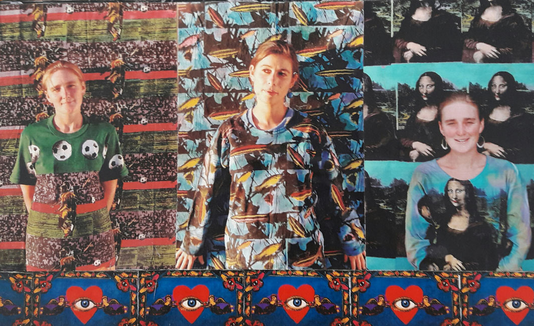 Jane-and-Jann Icon prints - clothing