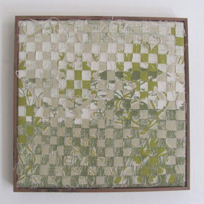 Veld Liliaceae prints rewoven framed block