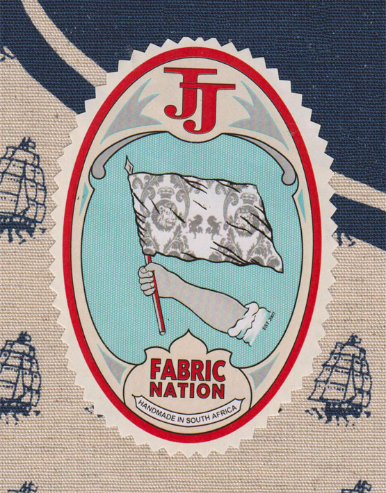 Fabricnation emblem on material (Fabric Nation)