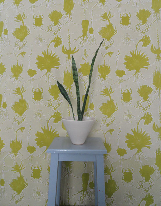 Fabricnation Liliaceae wallpaper (Fabric Nation)