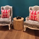 Kokerboom chairs and champion cushions The Delight Swakopmund